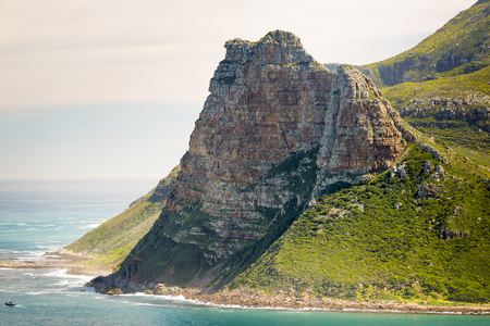 chapmans: Sentinel peak in Hout Bay near Cape Town, South Africa Stock Photo