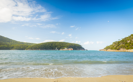 wilsons promontory: Refuge Cove in Wilsons Promontory National Park, Victoria, Australia Stock Photo