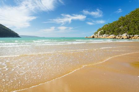 wilsons promontory: Sealers Cove beach in Wilsons Promontory National Park, Victoria, Australia Stock Photo
