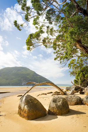 wilsons promontory: Sealers Cove in Wilsons Promontory National Park, Victoria, Australia Stock Photo