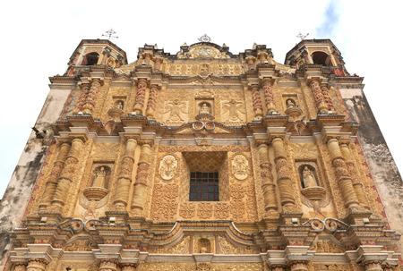 Santo Domingo Church of San Cristobal in Chiapas, Mexico Stock Photo