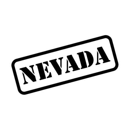 Nevada stamp sign in vector stamp style