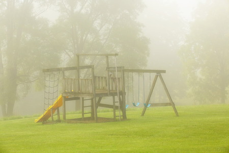 jungle gyms: Play Ground Stock Photo