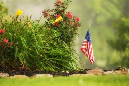 natue: American Garden Stock Photo