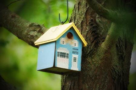 maison oiseau: Bird House - Hudson Banque d'images