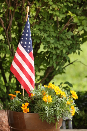 American Garden Flag Images Stock Pictures Royalty Free