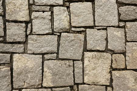 granite wall: Stone Granite Wall Stock Photo