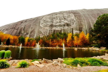 state park: Stone Mountain State Park