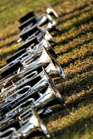 Trumpets on the ground