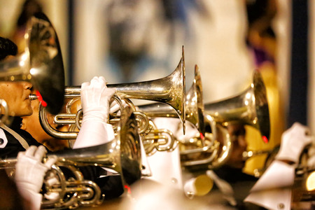 trumpets: Line of Trumpets