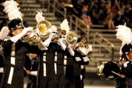marching: Marching Band Trumpets