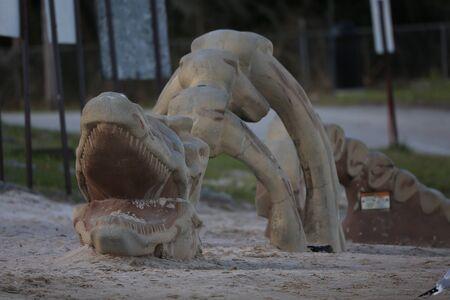 play ground: Dragon Play Ground Stock Photo