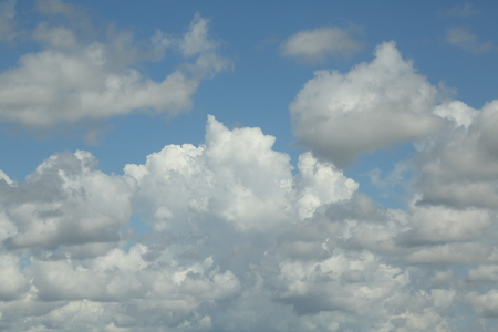 billowing: Billowing Clouds Stock Photo
