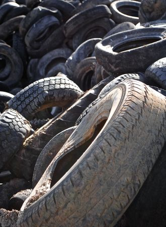 Old tires  photo