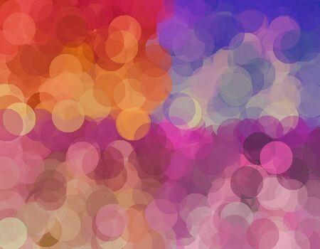 fine arts: colorful bokeh background