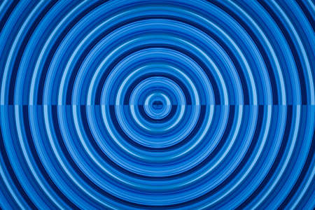 expanding: blue seamless circle background Stock Photo