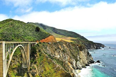 bixby bridge groot sur californië de VS
