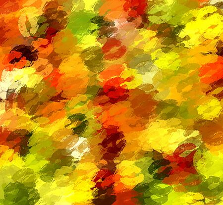 romantic sexy couple: christmas kiss abstract background