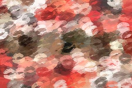 super sexy kiss abstract background 版權商用圖片