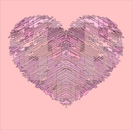 corazon rosa: coraz�n rosa