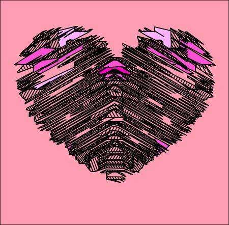 dessin coeur: dessin de c?ur