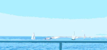 fine weather: sailing