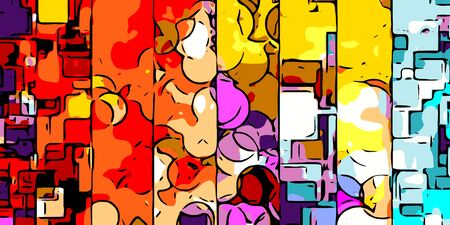abstract: colorful abstract background