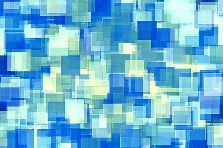blauw en geel vierkant patroon achtergrond