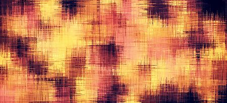 pink and black: yellow pink and black painting abstract background Stock Photo