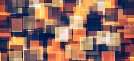 브라운과 블랙 스퀘어 패턴 추상적 인 배경 스톡 콘텐츠