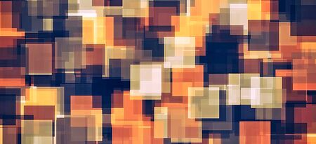 square pattern: brown and black square pattern abstract background Stock Photo