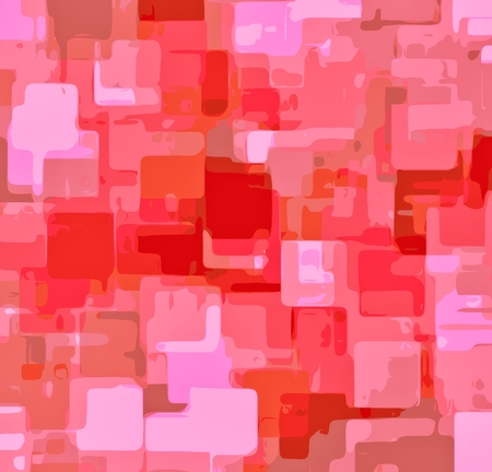 shapes background: romantic pink painting square pattern abstract background