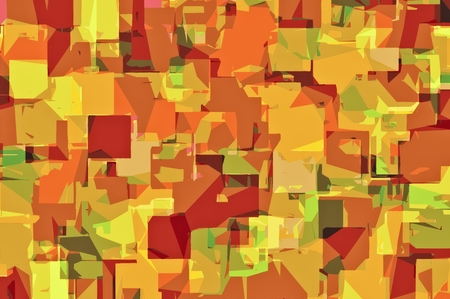 green brown: green brown and orange drawing abstract background