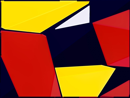 red yellow: red yellow and black painting abstract background