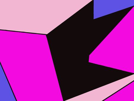 fine detail: purple pink blue and black painting abstract background