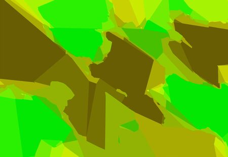 green brown: green and brown painting abstract background
