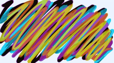 pink and brown background: colorful lines painting background in yellow blue pink brown