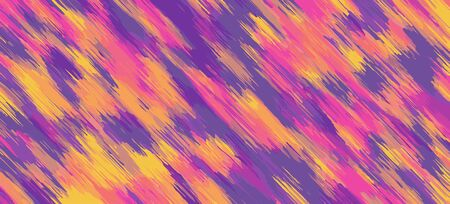 pink blue yellow orange drawing and painting abstract background