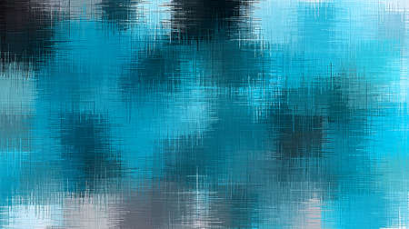 blue and black painting abstract background Stock Photo