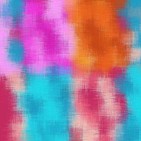 fine detail: pink orange blue and red painting abstract background