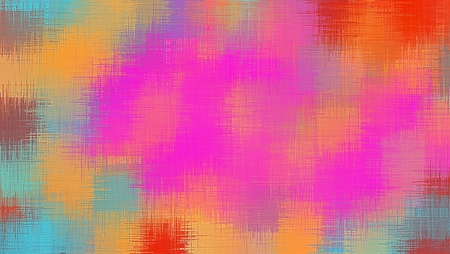 fine detail: red pink orange and blue painting abstract background