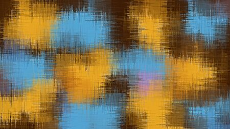 fine detail: blue yellow brown and pink painting abstract background
