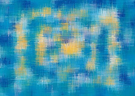blue orange and dark blue painting abstract background