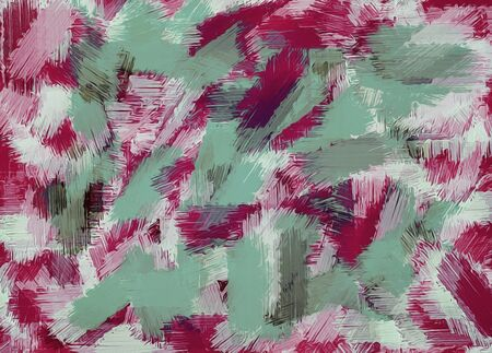 green red and purple painting texture abstract background