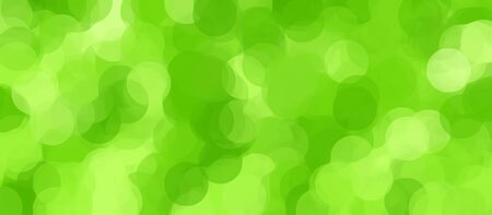 green painting circle abstract background