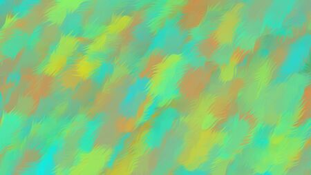 yellow orange and blue painting texture abstract background Stock Photo