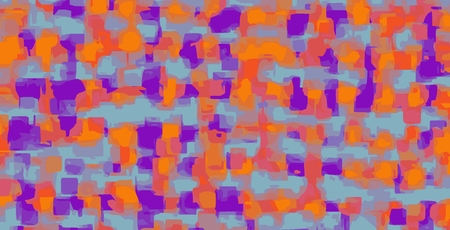 fine detail: orange blue and purple pattern painting abstract background Stock Photo