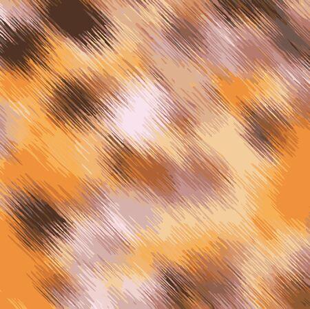 茶色のオレンジと黒のテクスチャの抽象的な背景を塗る