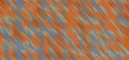blue orange and brown painting abstract background