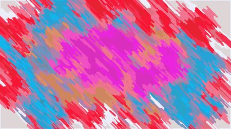 pink blue orange and red painting abstract with white background